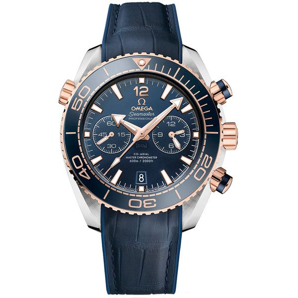 Omega Planet Ocean 600m Co-Axial Master Chronometer Chronograph 45.5mm... (11123420 IQD) ❤ liked on Polyvore featuring men's fashion, men's jewelry, men's watches, omega mens watches, mens stainless steel watches and mens chronograph watches