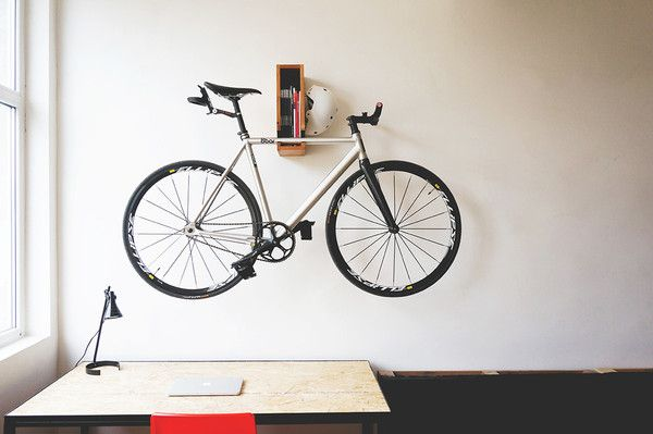 BERLIN Wooden Bicycle Shelf