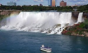 Groupon - Stay with Couples Package at the Tower Hotel in Niagara Falls, ON. Dates into September. in Niagara Falls, ON. Groupon deal price: $152