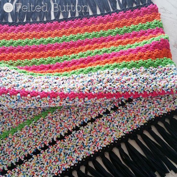 572 mejores imágenes de Felted Button: Colorful Crochet Patterns en ...