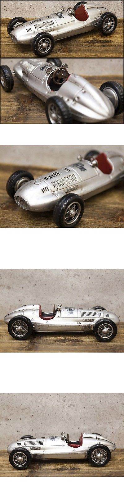 Vintage Manufacture 180534: Model Vintage Tin Plate Silver F1 Racing Car Free Shipping!Q7307-3 -> BUY IT NOW ONLY: $89 on eBay!