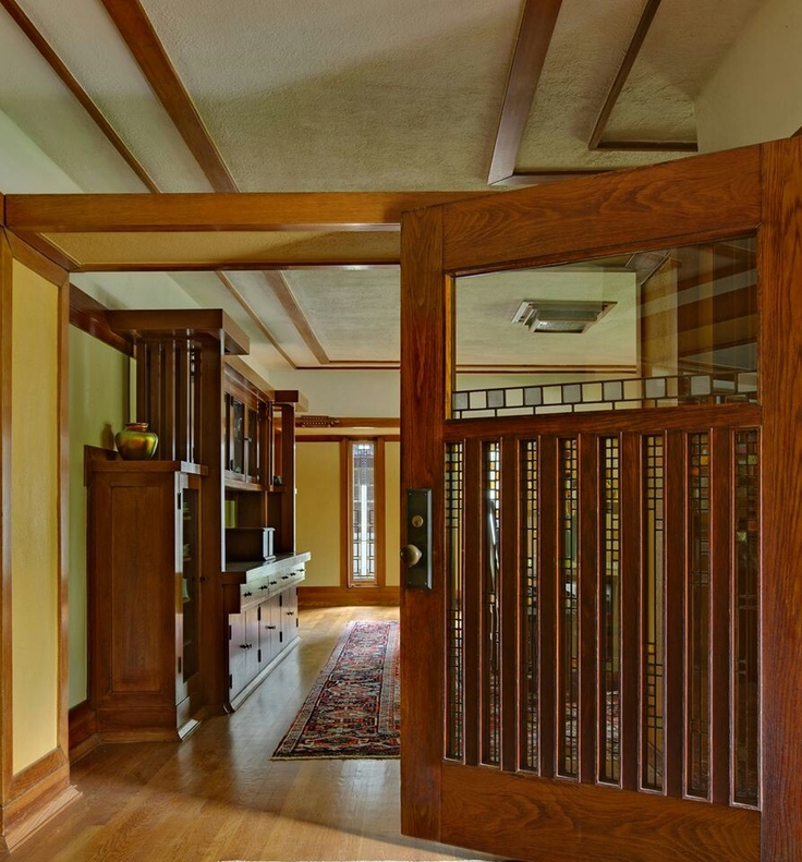 452 best images about frank lloyd wright on pinterest il - Frank lloyd wright house interiors ...