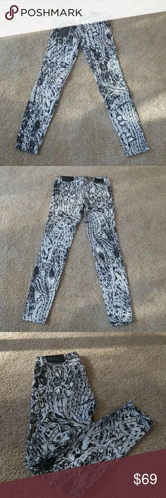 NWT! Armani Exchange Digital Print Skinny Jeans Brand NWT! Armani Exchange Digital Print Skinny Jeans. So cool! Armani Exchange Jeans Skinny