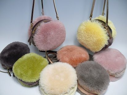 Macaron purses by Monterosa