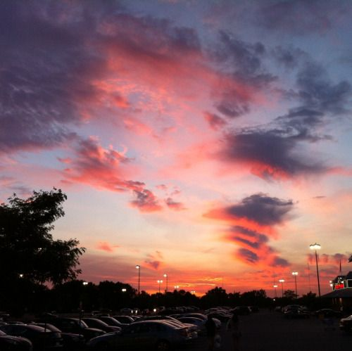 Wish the sky was like this everyday