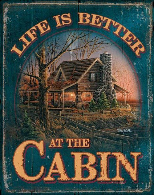 life at the cabin