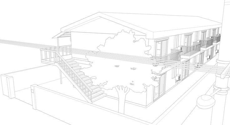 3Ds Apartment Manga - 3D Model