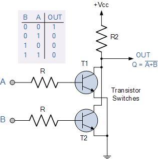 Xor Gate Simple Circuit Diagram (Dengan gambar)