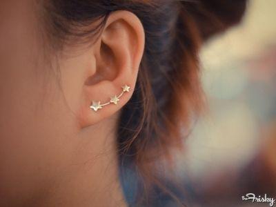 Star Ear Pins