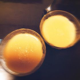 材料3つのアーモンドミルクプリン♥