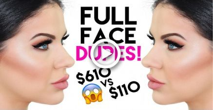 FULL FACE OF DUPES!! DRUG STORE VS HIGH END MAKEUP…
