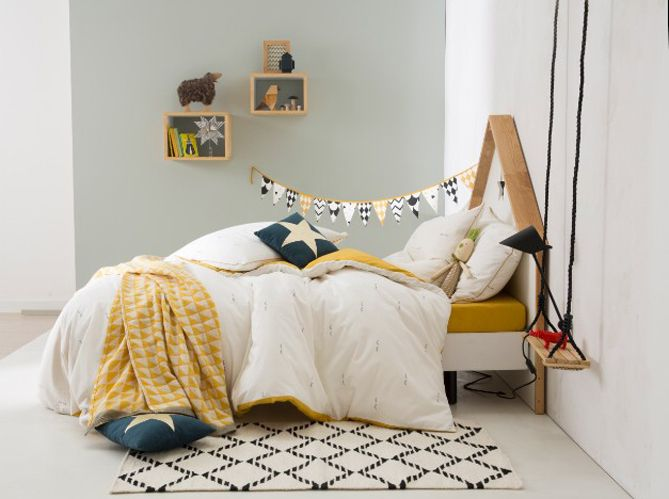 Les enfants méritent tous d'avoir une belle chambre. Un endroit agréable dans lequel ils...