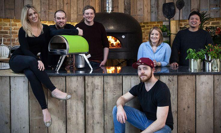 El Roccbox, un horno de pizza hornear piedra portátil.