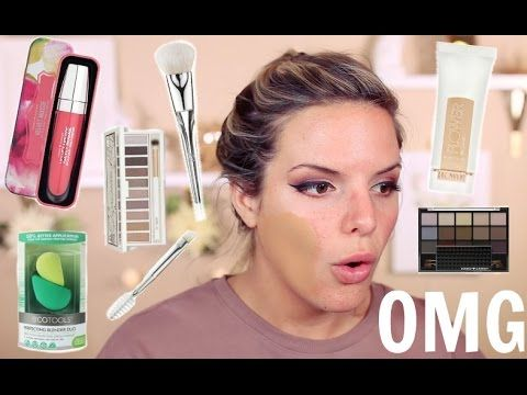 FULL FACE OF FIRST IMPRESSIONS! DRUGSTORE Makeup & Tools! | Casey Holmes