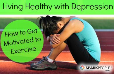 Whether you're suffering from the winter blues or clinical depression, these tips will help you stick to your healthy lifestyle, even on your darkest days. via @SparkPeople