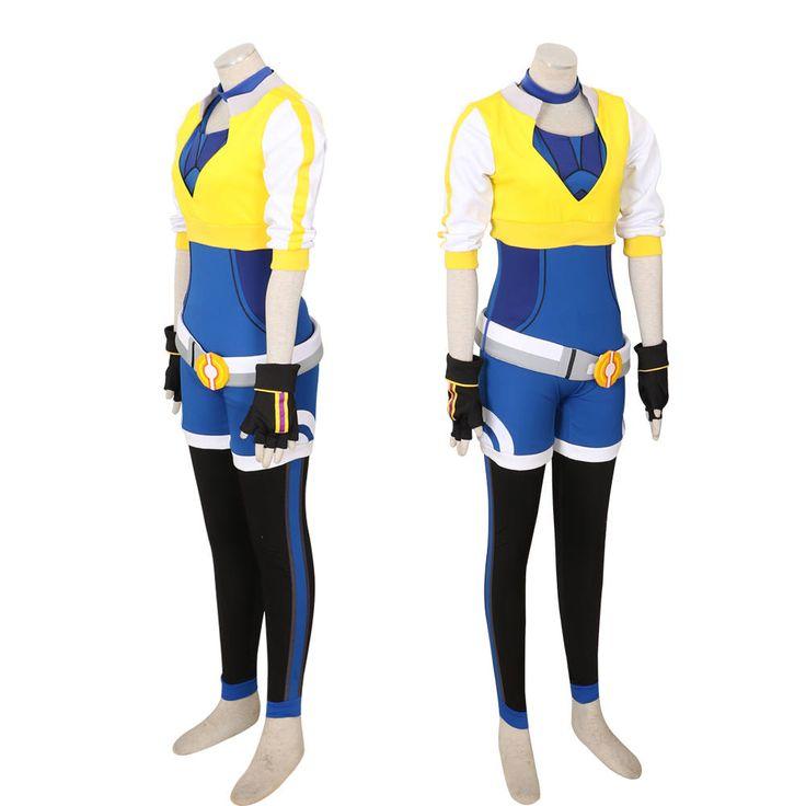 Pokemon Go Trainer Team Valor Instinct Mystic Cosplay Costume by CeciliaDreamStudio on Etsy