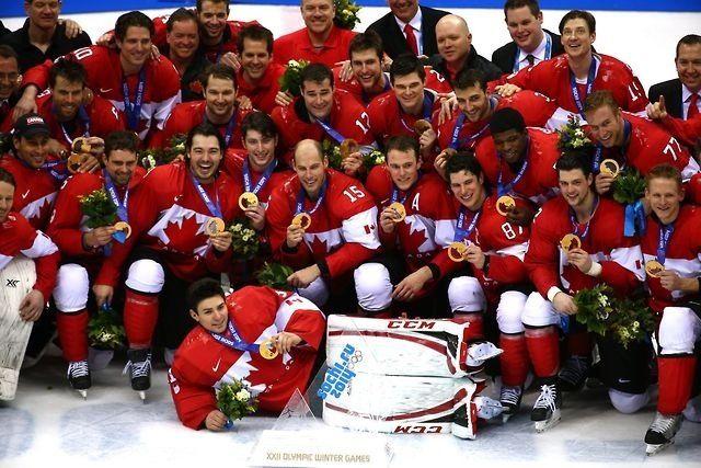 Team Canada Gold Sochi 2014