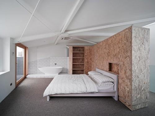 osb headboard d co batipin osb pinterest design. Black Bedroom Furniture Sets. Home Design Ideas