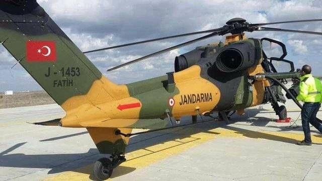 En un caso único entre las fuerzas policiales del mundo, un helicópteros de ataque de última generación T129 ATAK dota ya a la Gendarmería turca