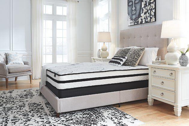 ashley furniture mattress on Chime 10 Inch Hybrid Twin Mattress In A Box Ashley Furniture Homestore Comfort Mattress Twin Mattress Box Bed