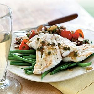 Flounder, a close cousin to sole, is a good substitute in this classic yet simple preparation. You can also use trout or your favorite...