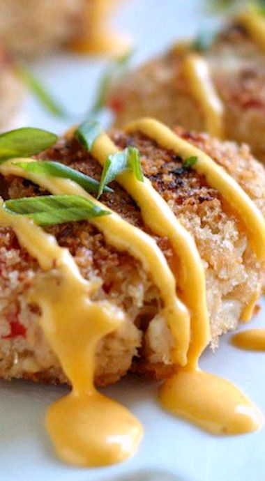IPA Crab Cakes with Spicy Beer Hollandaise Sauce