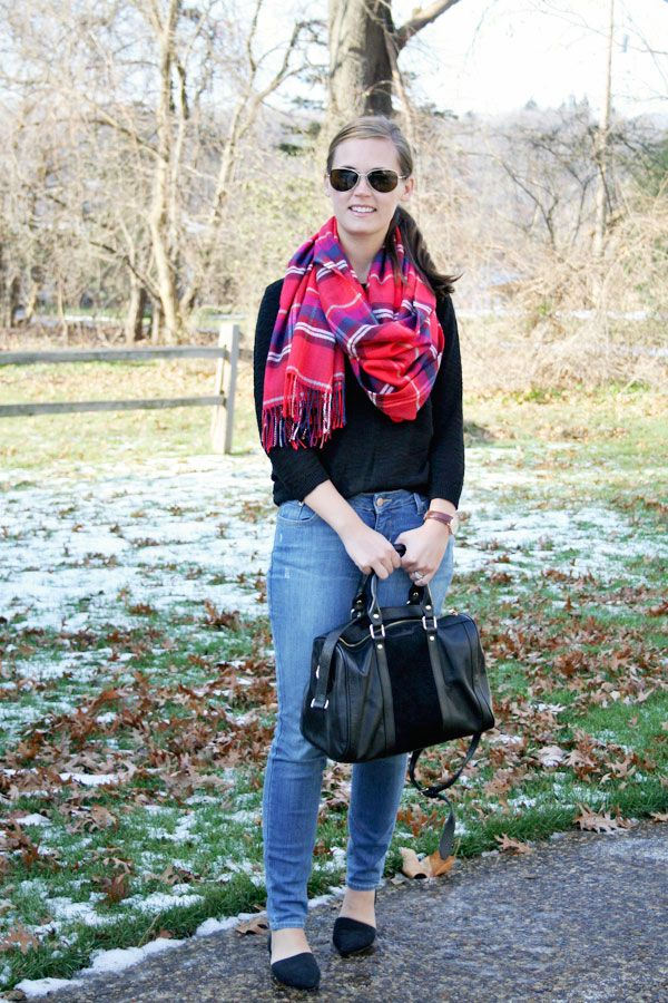 my everyday style: big scarves are here to stay!
