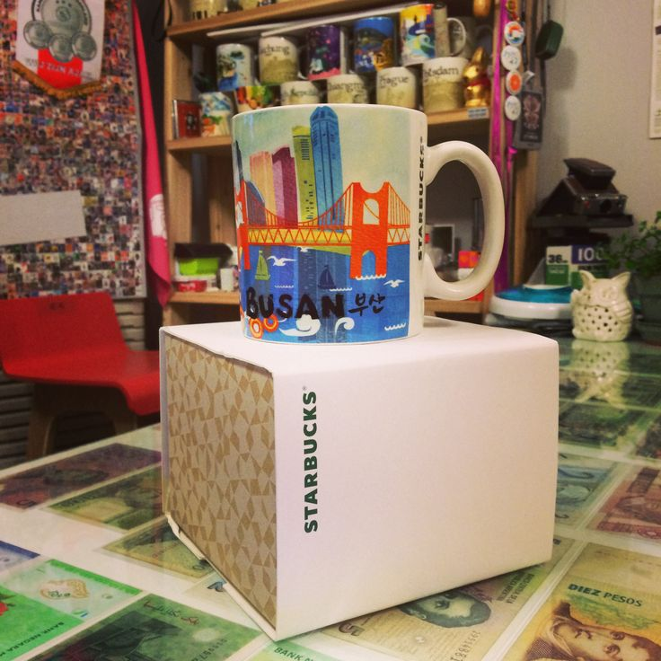 [City Mug BUSAN] Starbucks city mug  #starbucks #BUSAN #apple #해외출장선물