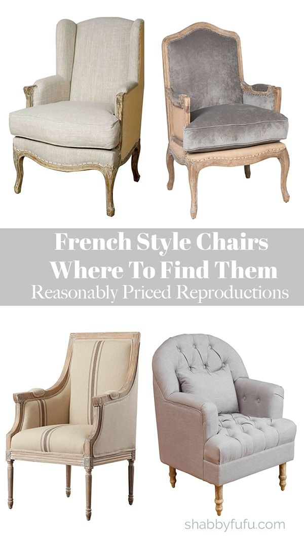 French Style Chairs Where To Find Them French Style Chairs