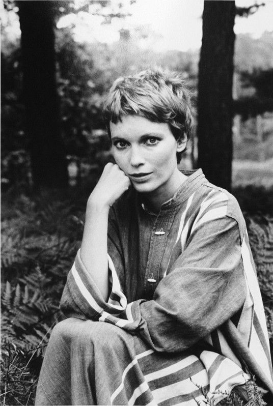 Mia Farrow - by                                                                                                                                                                                                Alfred Eisenstaedt