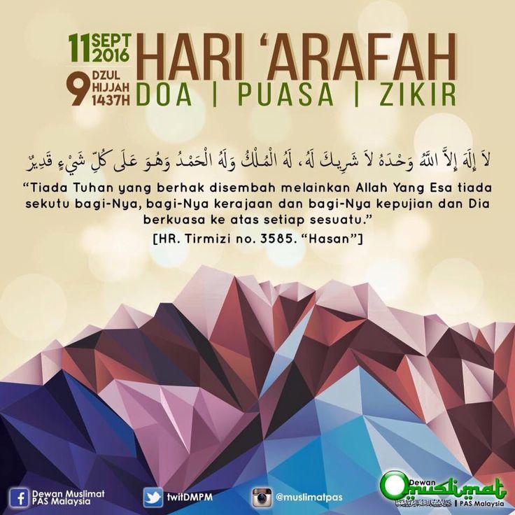 Kelebihan Hari Arafah