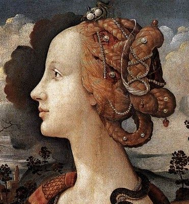 Piero di Cosimo (Simonetta Vespucci), c. 1480-90 Portraits of  Women in Italian Renaissance Painting #TuscanyAgriturismoGiratola