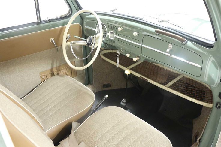 1961 vw original interior dash