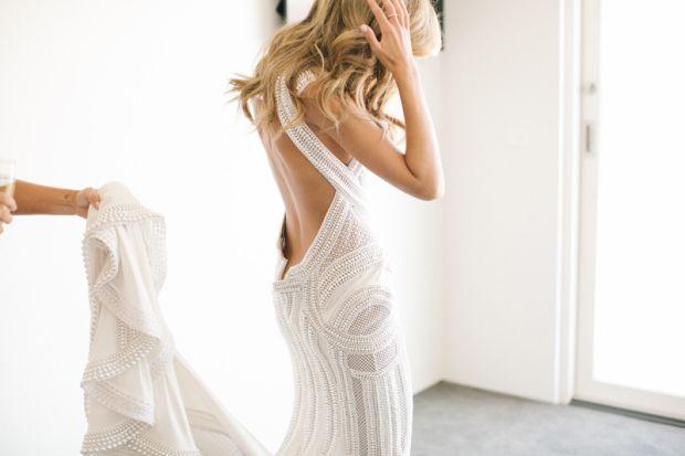 NADIA BARTEL WEDDING DRESS