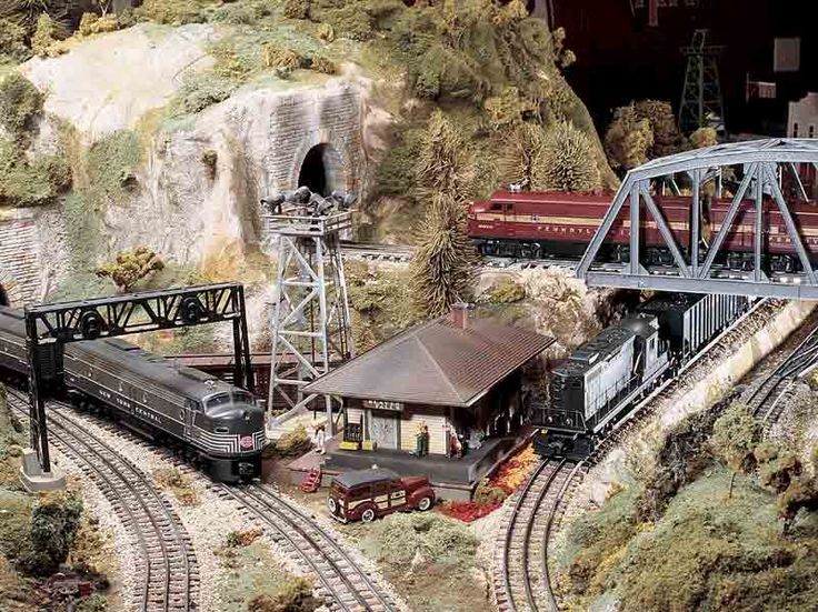 17 best images about train layouts on pinterest models for Best classic house tracks