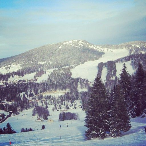 Skiing in France- The Jura