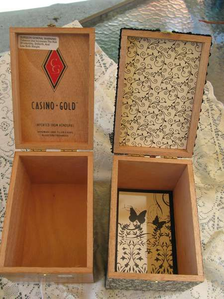 Other: Altered Cigar Box