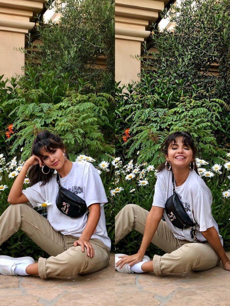 Bangs Inspo Selena Gomez Outfits Selena Gomez Style Selena Gomez