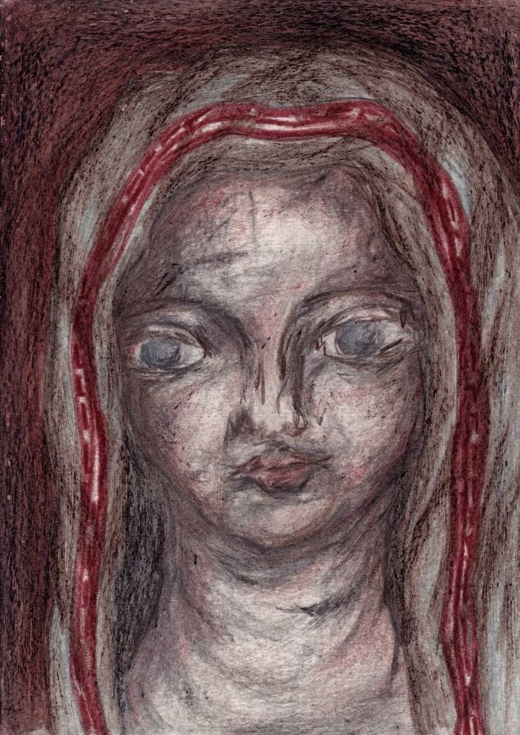 "Drawing: Pastel on Paper.   Size: 11.7 H x  8.3 W x  0  in   Pawn ""Fan - Worshipper"". Girl - intriguer who using unsympathetic methods in the battle for better work seats.    All the characters are fictional, representing types of people. There are not portraits of real man or woman."