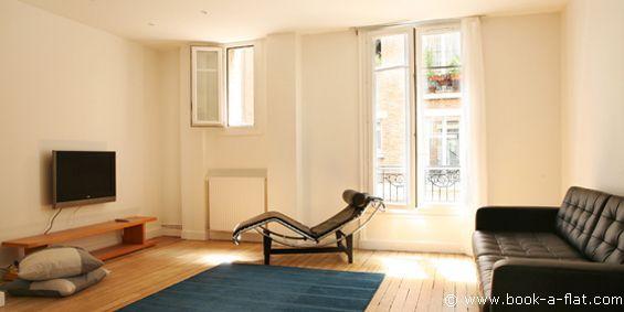 Apartment rental 1 bedroom Paris rue Notre Dame des Champs 6th District - Nearest metro Vavin