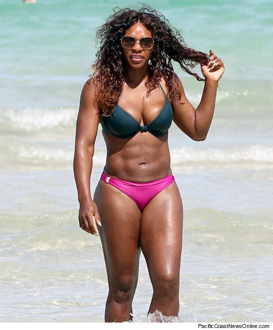 Serena Williams Stomachs the Competition