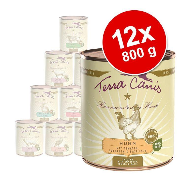Animalerie  Lot Terra Canis 12 x 800 g pour chien  poulet classic