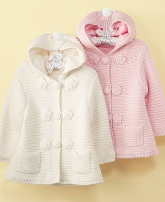 Going to make a knit hat for sweet baby N.  Need to find something to go with this jacket!  @Heidi Wrede- seen anything? :)