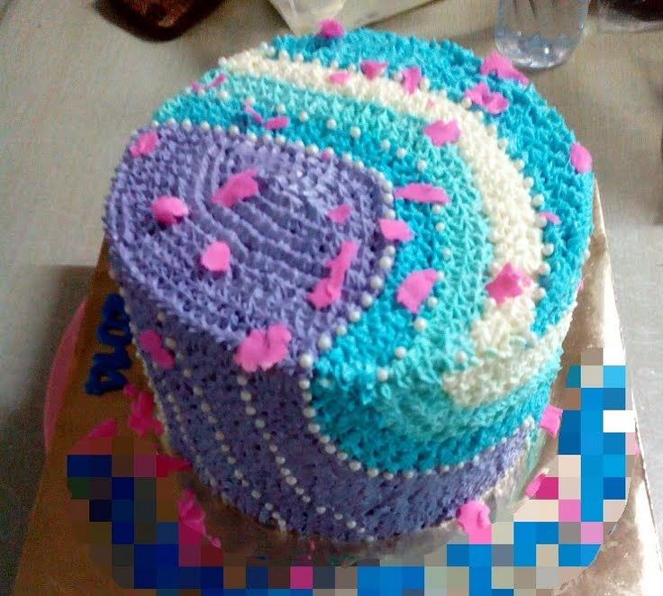 """Basic Buttercream Frosting! """"loved the combination colour (L)"""" @ ..."""