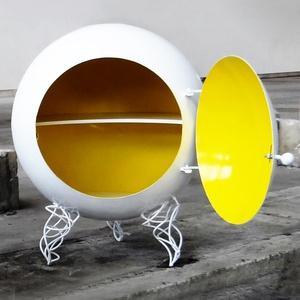 Schrank Sphere Gelb-Weißjetzt auf Fab