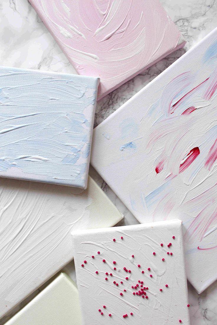 """Wanddeko Selber Machen- DIY Tutorial mit """"Wow"""" Effekt. Mehr DIYs gibt's auf madmoisell.com"""