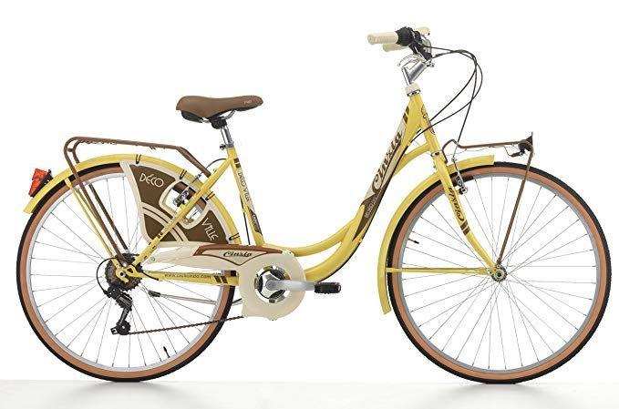 26 Zoll Cinzia Decoville Damen City Fahrrad 6 Gang Farbe
