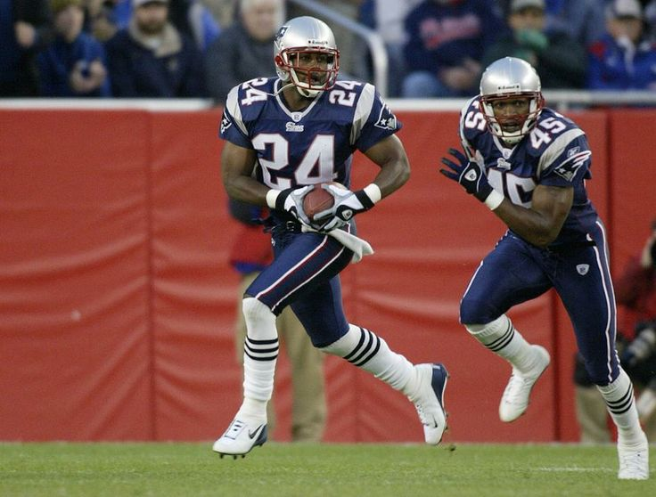 Ty Law during 2002 Season