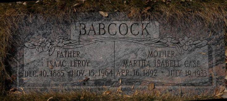Isaac Leroy Babcock (1885 - 1964) - Find A Grave Photos
