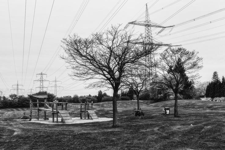 Electrifying playground, Hürth Germany. - by Hans Schumacher